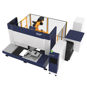 HSG: FSW3000R Galvanometer Fiber Laser Welding Machine