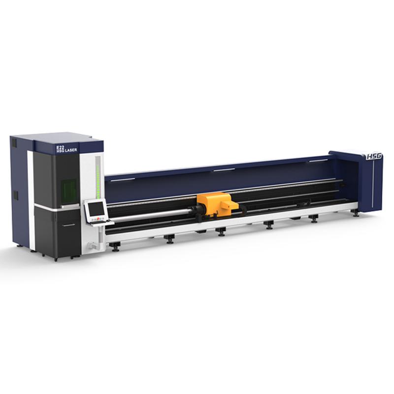 HSG: E22 Precise Tube Fiber Laser Cutting Machine